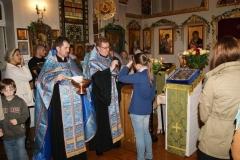 13 июня 2012 года. Ставропигиальный Покровский приход в Дюссельдорфе посетила Курская-Коренная икона Божией Матери.