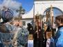 Божественная Литургия в Свято-Никольском Черноостровском женском монастыре 8 сентября 2012