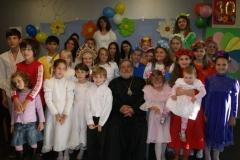 Детские поздравления с 30-ти летним юбилеем хиротонии архиепископа Лонгина Клинского. (16.10.2011)
