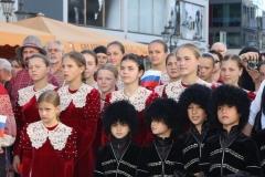 """Детский хор «Отрада» посетил Германию, чтобы принять участие в третьем Международном детском форуме """"Этот мир - наш!"""", проводимом в Бонне."""