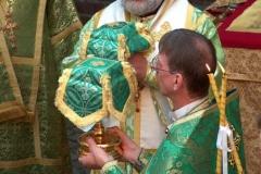 Литургия 25.06.2006 - Архиепископ Клинский Лонгин и Епископ Архангельский и Холмогорский Тихон
