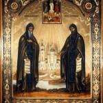 hl. Mönche Sergius und Hermann von Valaam