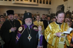 60-ти летний юбилей Архиепископа Лонгина (19.02.2006).