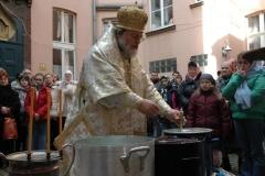 Святое Богоявление (19.01.2007). Освящение воды.